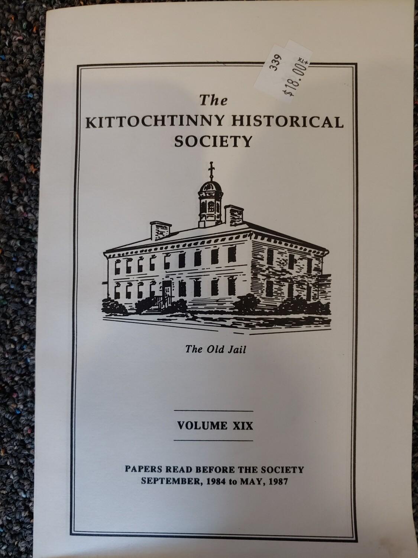 Kittochtinny Historical Society Volume XIX