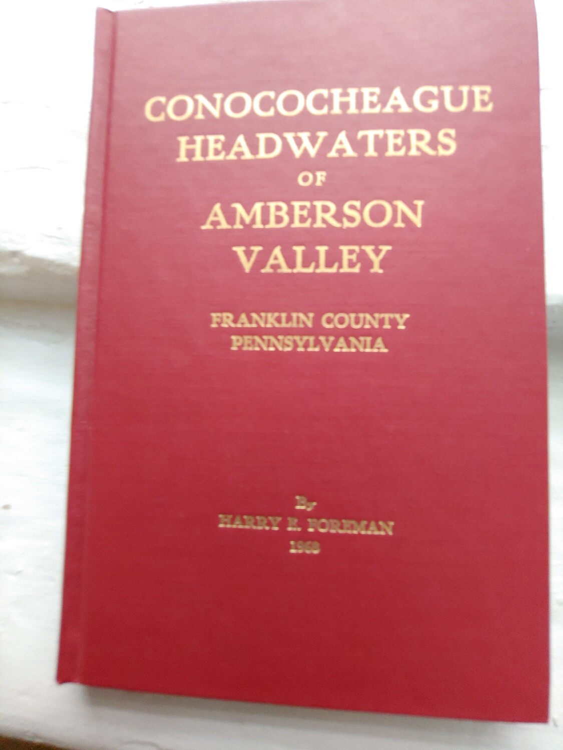 Conococheague Headwaters of Amberson Valley