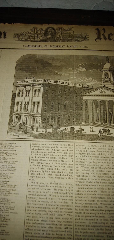 Franklin Repository 1871