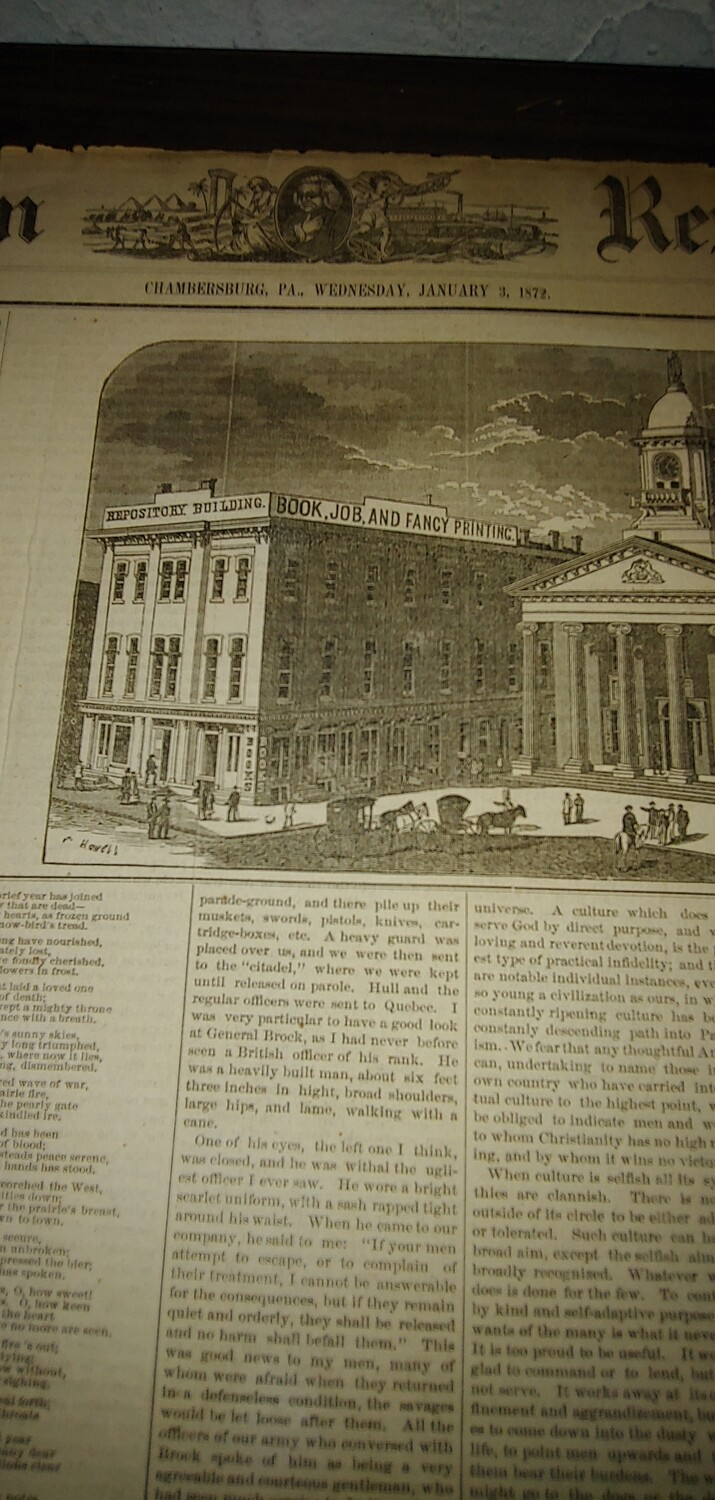 Franklin Repository 1872