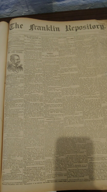 Franklin Repository 1897