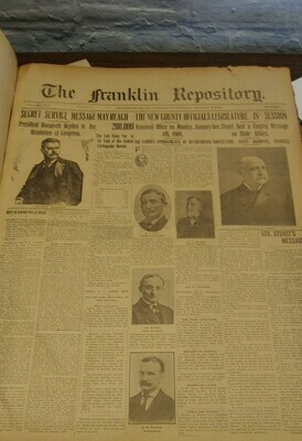 Franklin Repository 1909