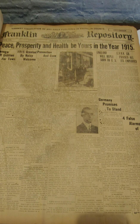 Franklin Repository 1915
