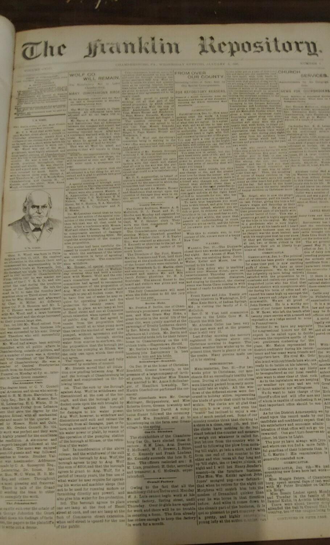 Franklin Repository 1898