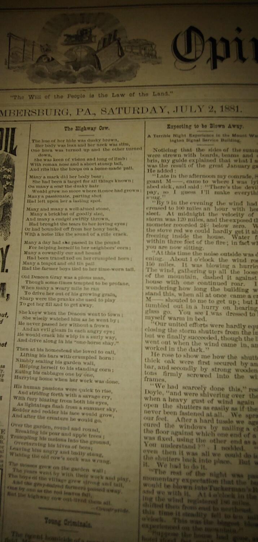 Public Opinion 1881/1882
