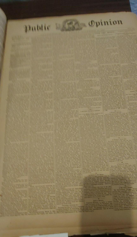 Public Opinion 1889-1890
