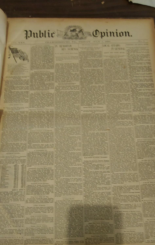 Public Opinion 1898-1899