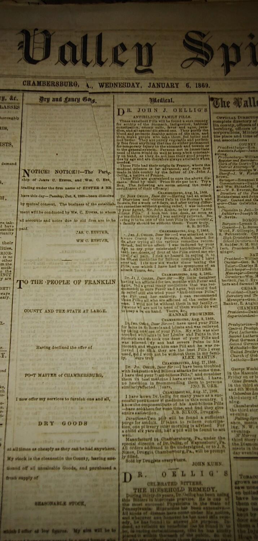 Valley Spirit 1869