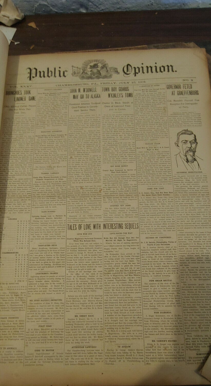 Public Opinion 1903-1904