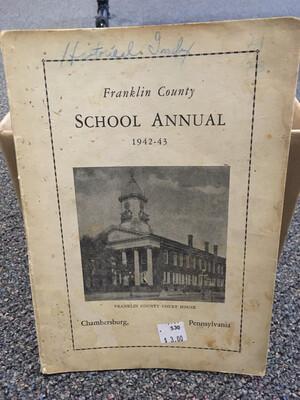Franklin County School Annual 1942-1943