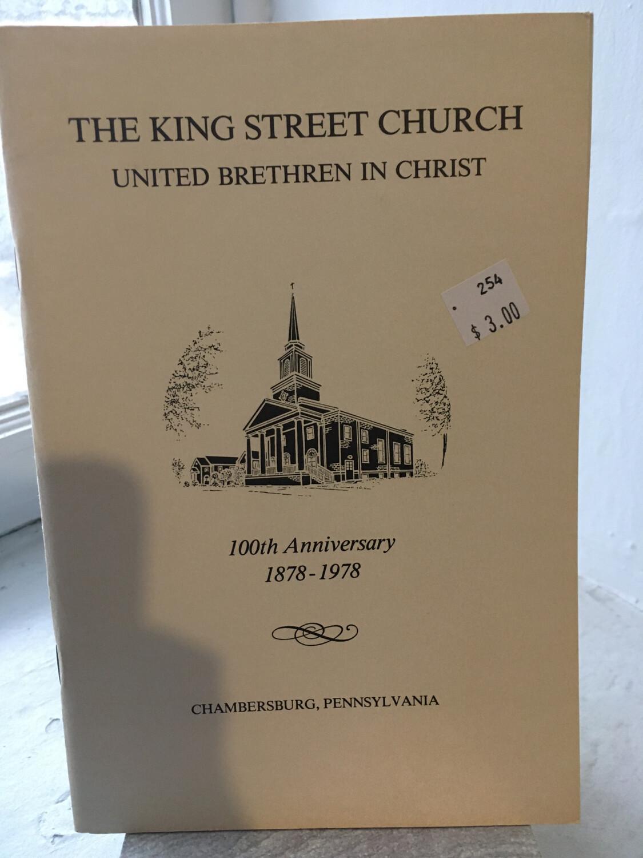 King Street Church 100th Anniversary
