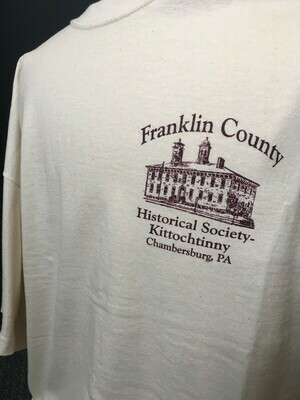 Tee Shirt FCHS/Kittochtinny Cream (L)