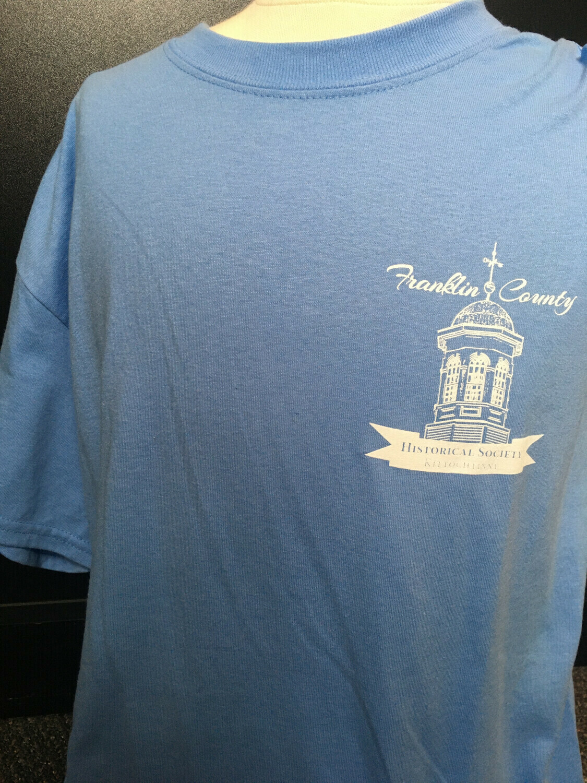 "Tee Shirt ""I DID TIME .."" Blue (L)"