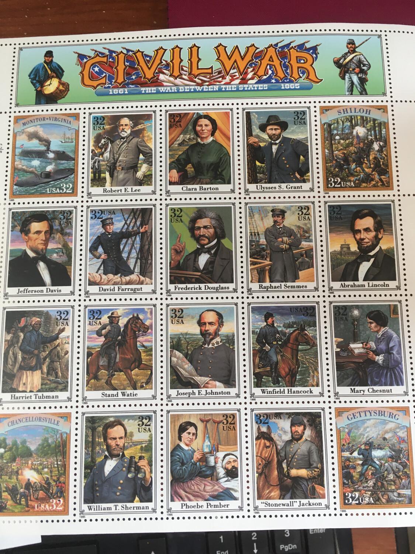 Civil War Stamps