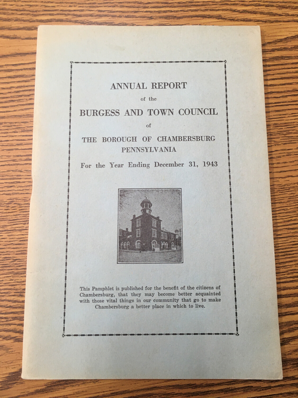 Annual Report 1943