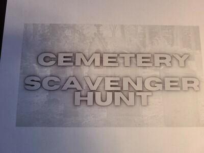 Cemetery Scavenger Hunt 2020