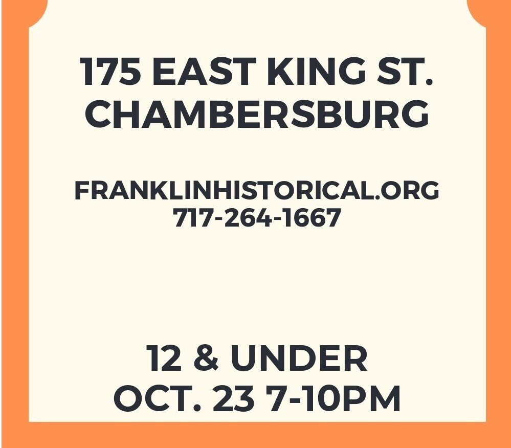 12 and under Haunted Jail Ticket - Oct 23