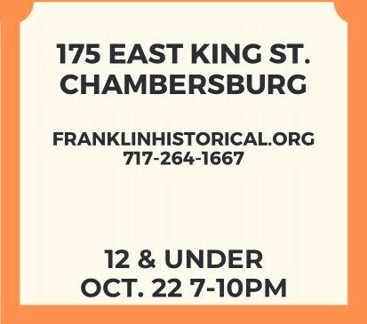 12 and under Haunted Jail Ticket - Oct 22