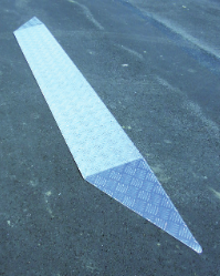Aluminium Schuine plank