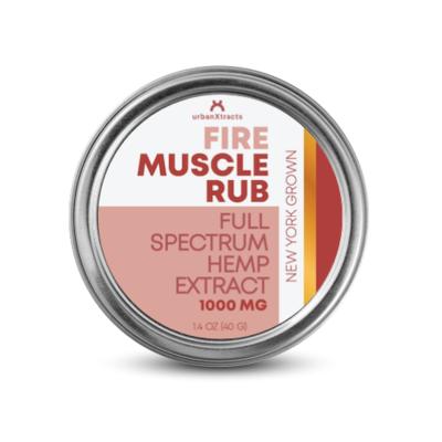 FIRE Muscle Rub 1000MG