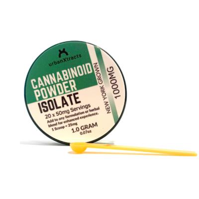 99% CBD Isolate | 1 Gram | 1000MG Cannabinoid Powder