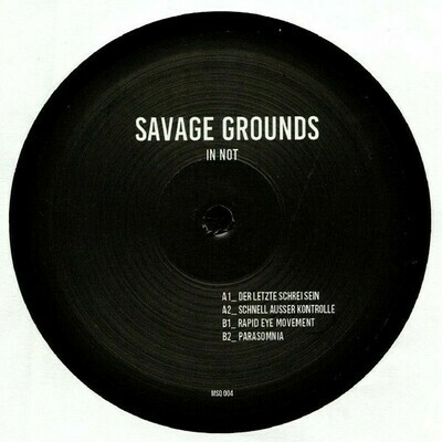 Savage Grounds-  In Not