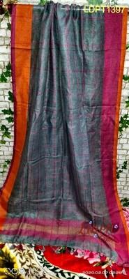 Linen Checks design Dupatta