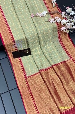 Elegant Banarasi Semi Georgette silk saree
