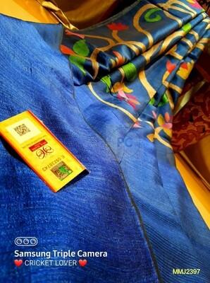 Beautiful  Mutka Muslin saree with all-over hand woven lata work