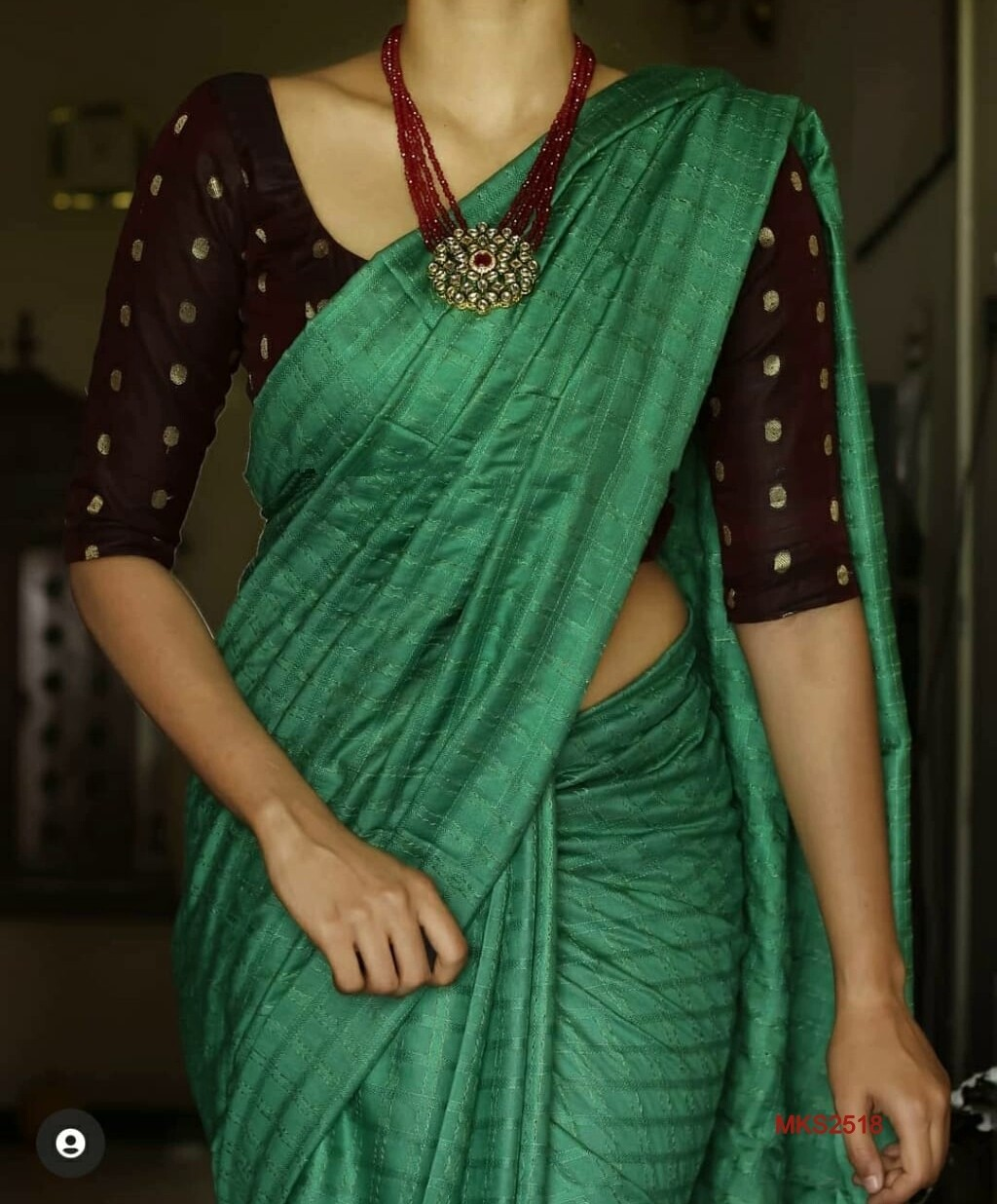 Semi Katan by Steple sarees with beautiful new dobby weaving design