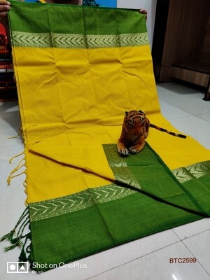 Bangladeshi Tant soft Saree  with exclusive Maheshwari border