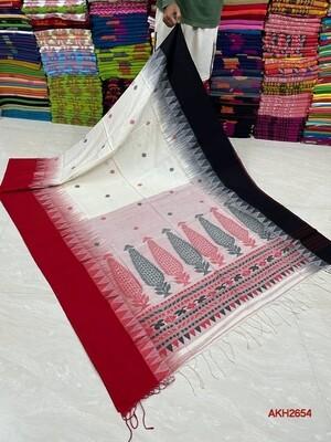Elegant Anarsh Khadi Saree