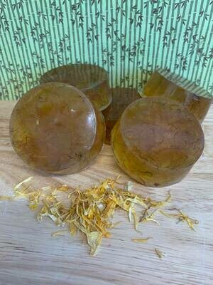 Stephanotis and Calendula Petal Soap
