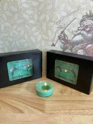 Christmas tea light candles