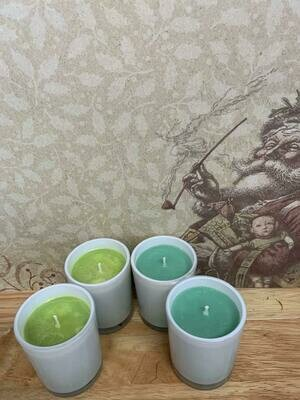 Soy Votive Candle - Christmas Tree Scent