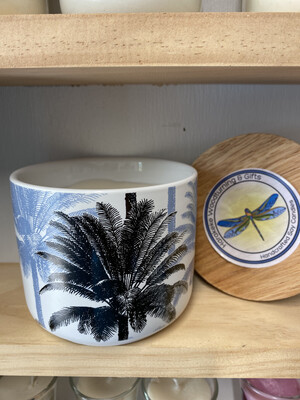 Palm Tree Vessel XL Soy candle