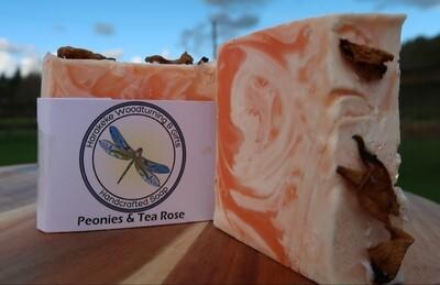 Peonies & Tea Rose