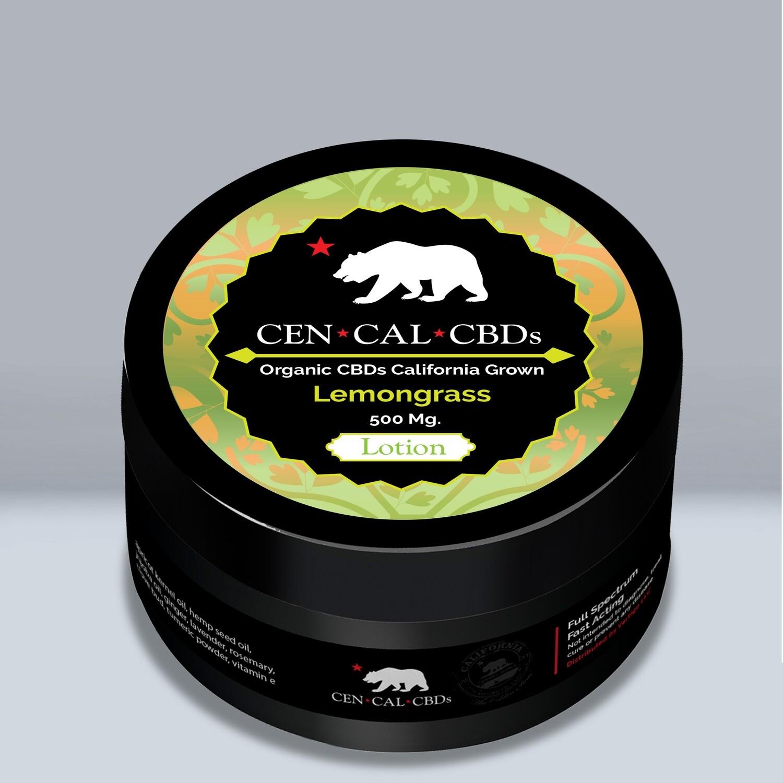 4 oz Lemongrass Lotion_500 mg