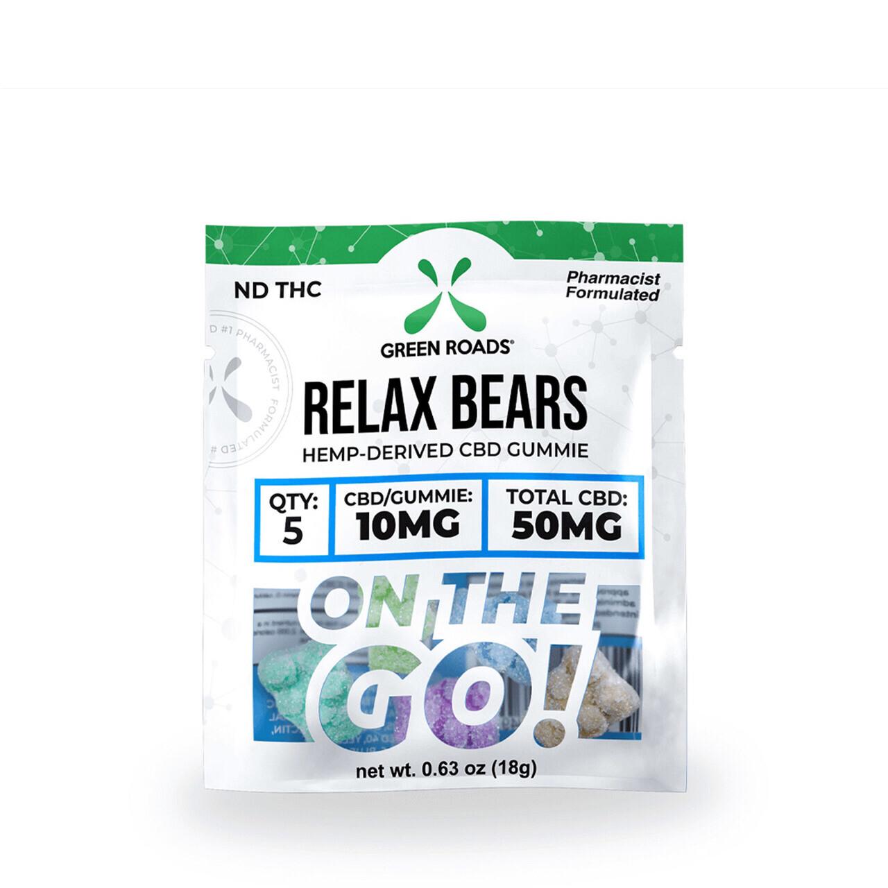 CBD Relax Gummie Bears 50mg