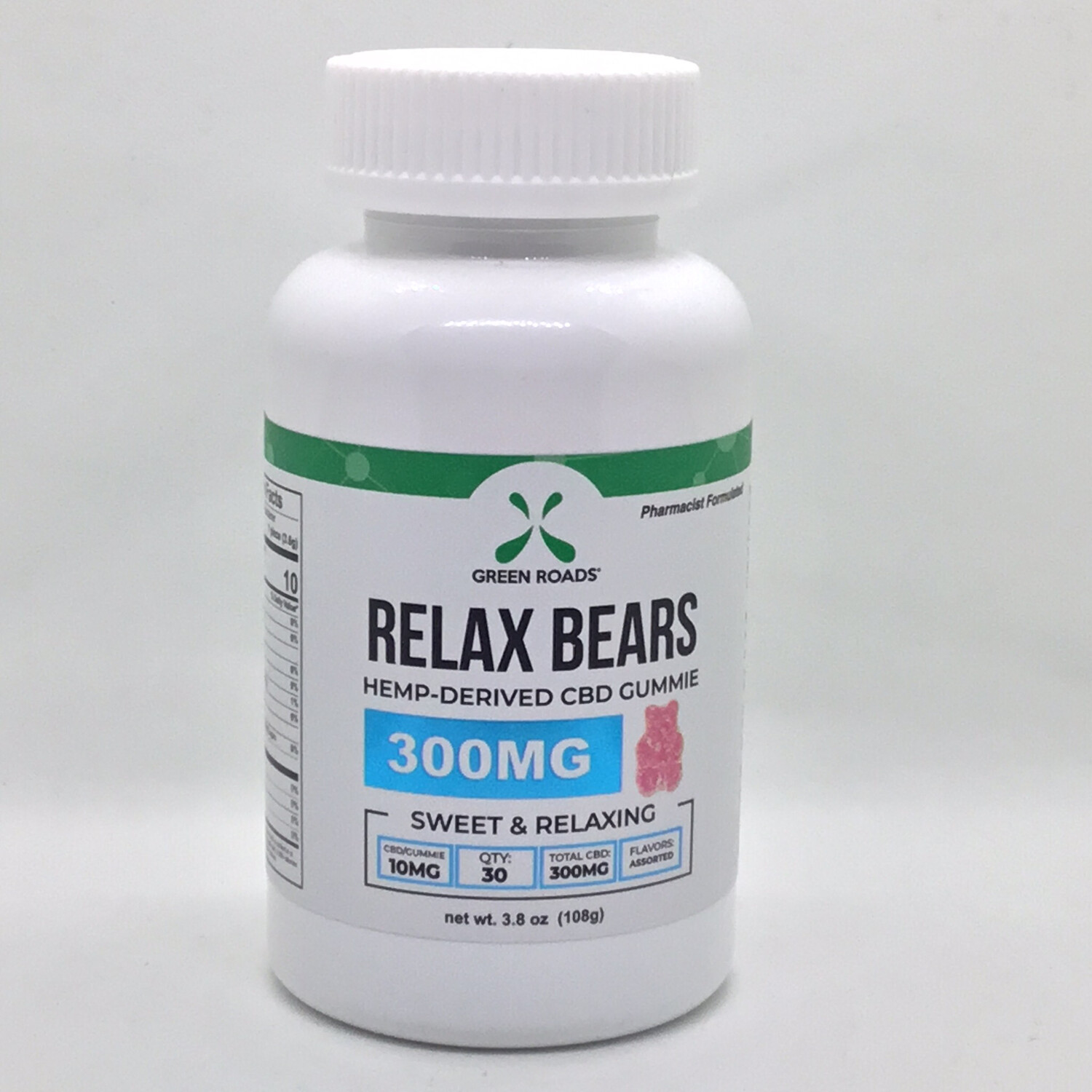 CBD Relax Bear Gummies 300mg