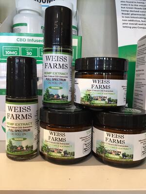 Weiss Farms CBD Oil 1000mg