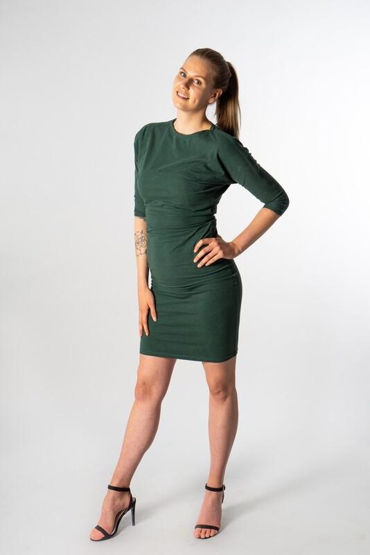 Basic Dress Amazone Green