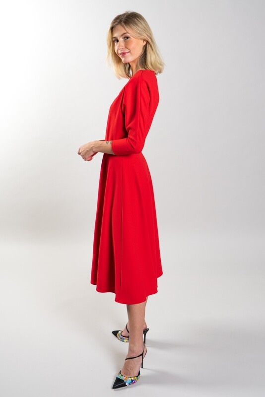 A-line Dress Red