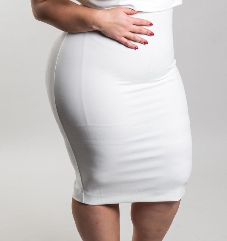 Tjuvholmen Skirt White