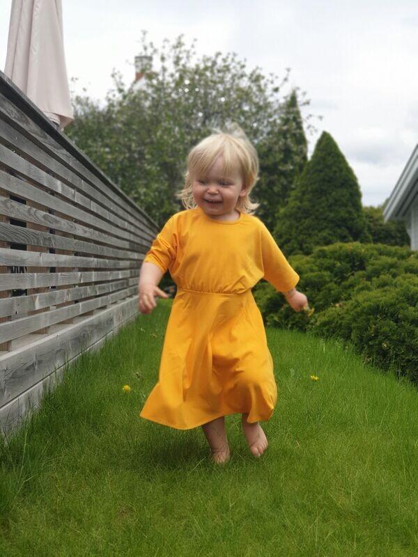 Delia Dress Tangerine