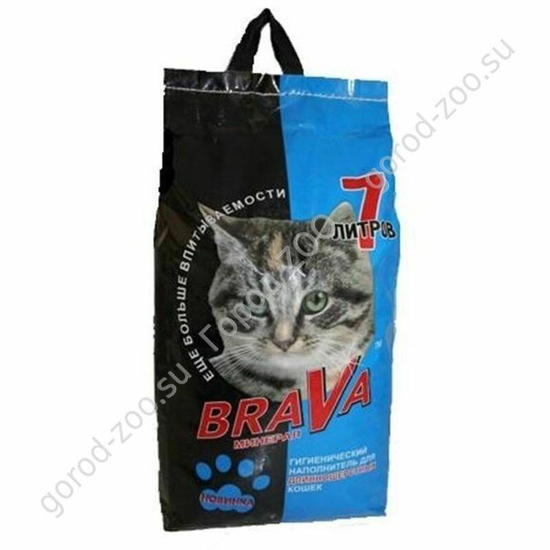 БРАВА наполн 7л д/длинношерст.кошек