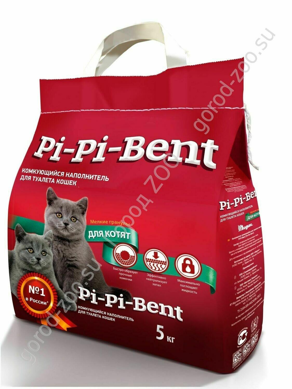 Пи-Пи-Бент наполн. 5кг д/котят пакет
