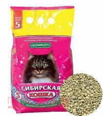 Сибирская кошка Комфорт 3л