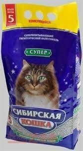 Сибирская кошка Супер (комк.) 5л