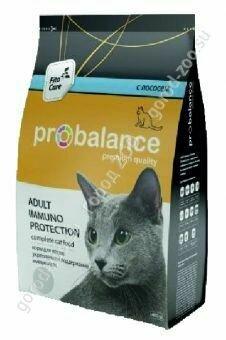 Пробаланс ProBalance корм сух.д/кошек Immuno Protection лосось 400гр